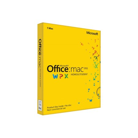 Microsoft Office for Mac Home and Student 2011 - Family (Office For Mac 2011 Home And Student Edition)