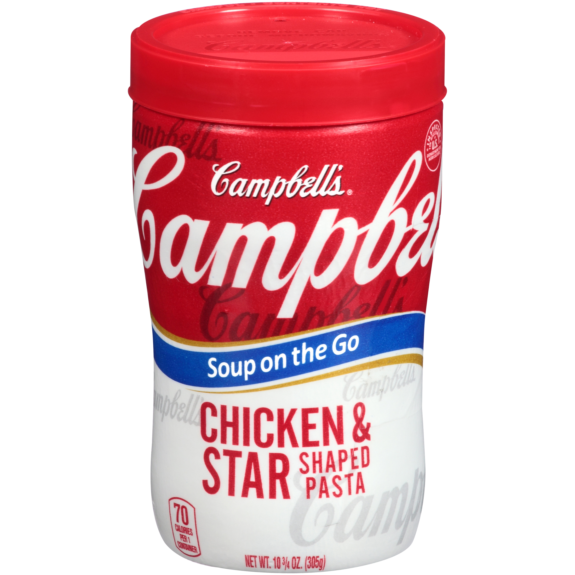 Campbell's Soup on the Go Chicken & Star Shaped Pasta 10.75oz
