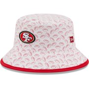San Francisco 49ers New Era Toddler Cutie Bucket Hat - White