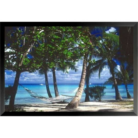 Buy Art For Less Tropical Retreat Poster By Beverly Factor Framed Photographic Print