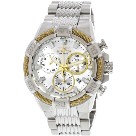 72a21e27d ... Swiss Quartz Chronograph 53mm Watch 14193 Aston Rouge. Invicta 25863 Men  S Bolt Quartz Stainless Steel Casual Watch