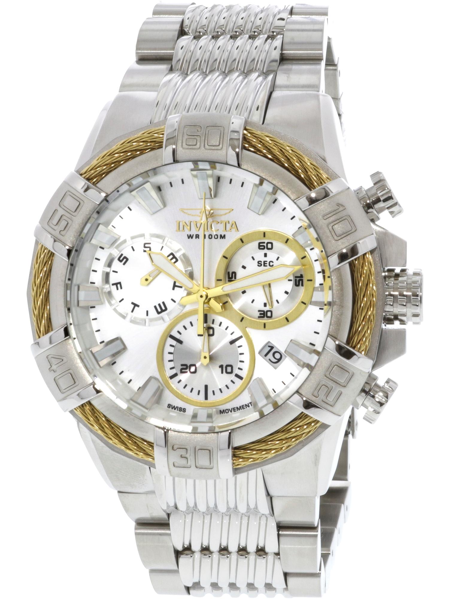 25863 Men's 'Bolt' Quartz Stainless Steel Casual Watch