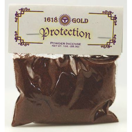 Home Fragrance Incense Powder Protection From Harm 1 oz by 1618 Gold