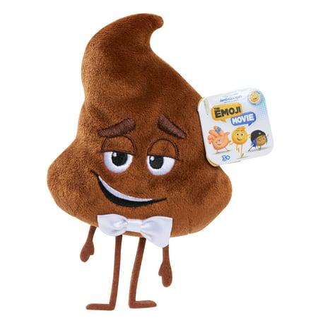 Emoji Movie Beans Plush - Poop (Smiling Poop Emoji)