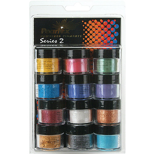 Jacquard Pearl Ex Powdered Pigments 12 Color Set, Series 2