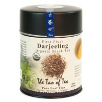 The Tao of Tea, Organic First Flush Darjeeling Tea, Lose Leaf Tea, 3.5 Oz Tin