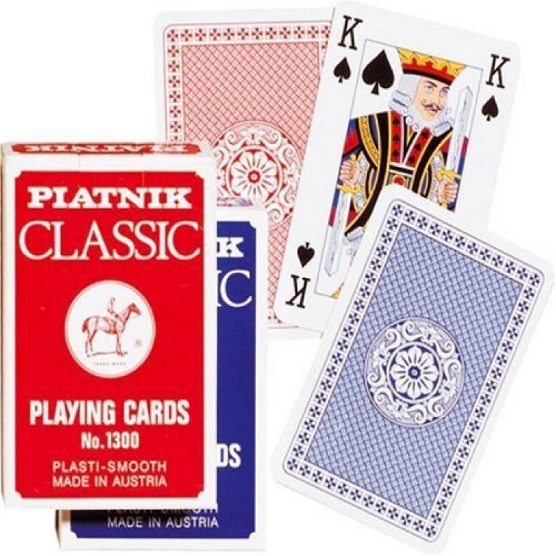 Piatnik Classic Bridge Single Deck of Playing Cards by Gi...