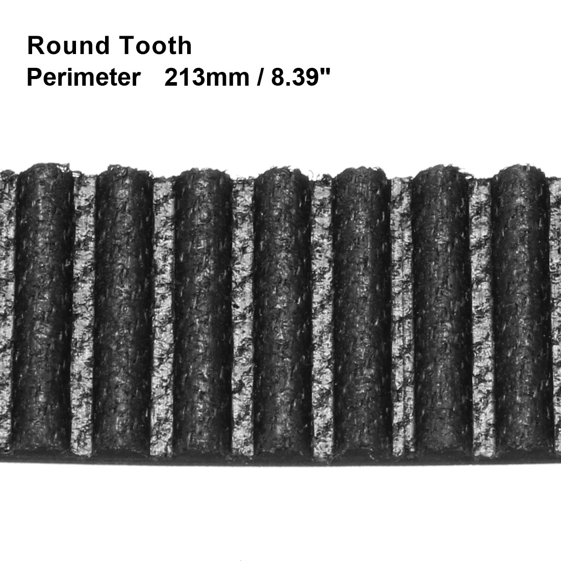 Unique Bargains HTD3M 71 Teeth Engine Timing Belt Rubber Geared-Belt 213mm Girth 10mm Width - image 1 of 2