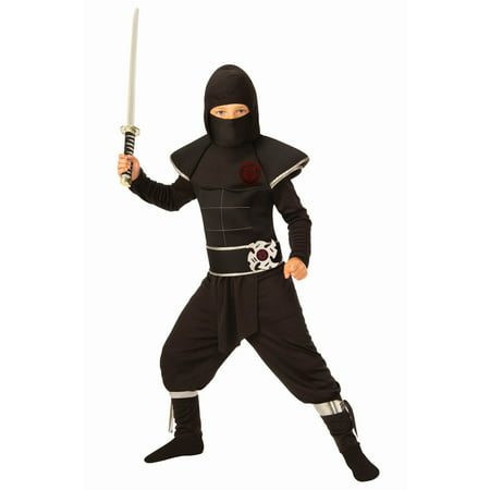 Boys Ninja Warrior Costume - Female Ninja Weapons