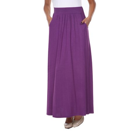 Women's Maxi Skirt - Green Hula Skirt