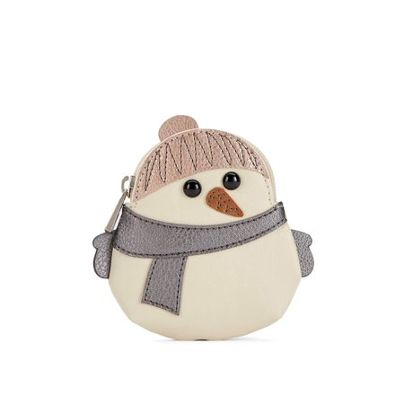 RELIC by Fossil Novelty Zip Coin Purse (Snowman) Novelty Coin Purses
