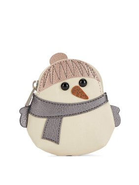RELIC by Fossil Novelty Zip Coin Purse (Snowman)