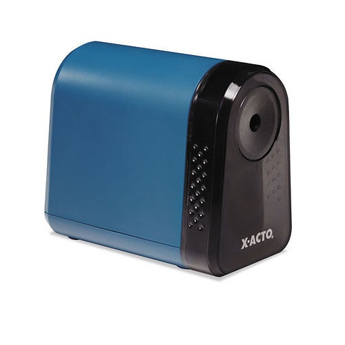 X-ACTO Mighty Mite Desktop Electric Pencil Sharpener, Mineral Green