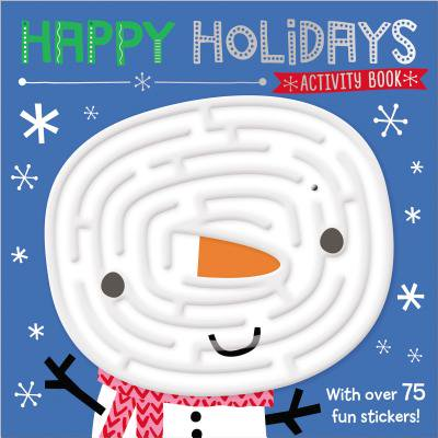 Maze Activity Books Happy Holidays