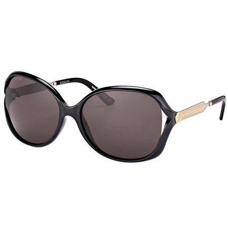 Gucci GG0076S 001 Women's Fashion Sunglasses