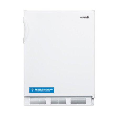 Ada Compliant Appliances (Summit Appliance Accucold ADA Compliant 24-inch 5.1 cu.ft. Undercounter All-Refrigerator)