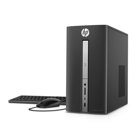 HP Pavilion 570-p023w Desktop Tower, Intel Core i5-7400, 8GB Memory, 128GB SSD + 1TB Hard Drive, Windows