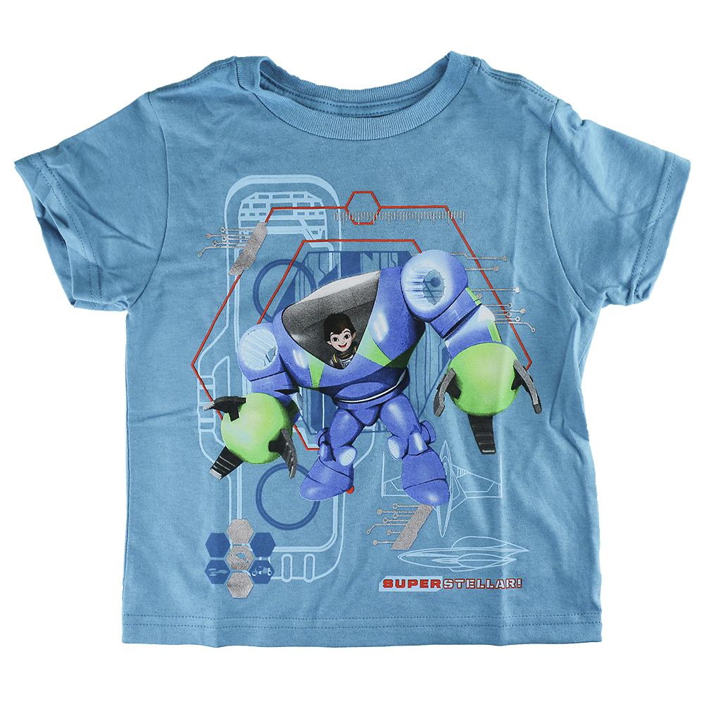 Disney Store Boys Miles from Tomorrowland Short Sleeve T-Shirt, Blue, XX-Small (2/3)