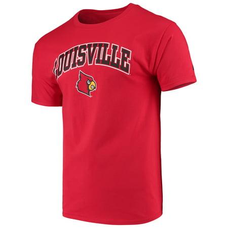 Louisville Cardinals Halloween (Men's Russell Red Louisville Cardinals Core Print)