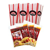FunTime FT25SK 2.5 Ounce Popcorn Tubs and Kernel Portion Packs  - FT25SK