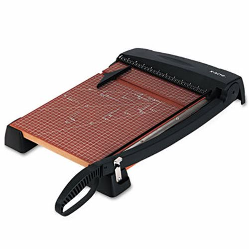 """X-acto Heavy-Duty Guillotine Paper Trimmer, Wood Base, 12""""x15"""" (EPI26315)"""