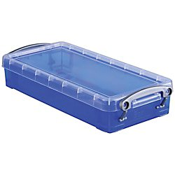 Really Useful Box® Plastic Storage Box, 0.55 Liter, 8 1/2