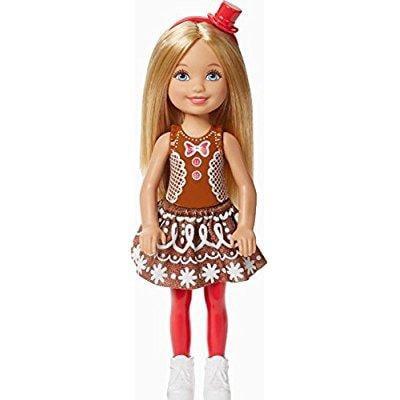 Barbie Christmas Chelsea Doll in Gingerbread Dress - Christmas Barbie
