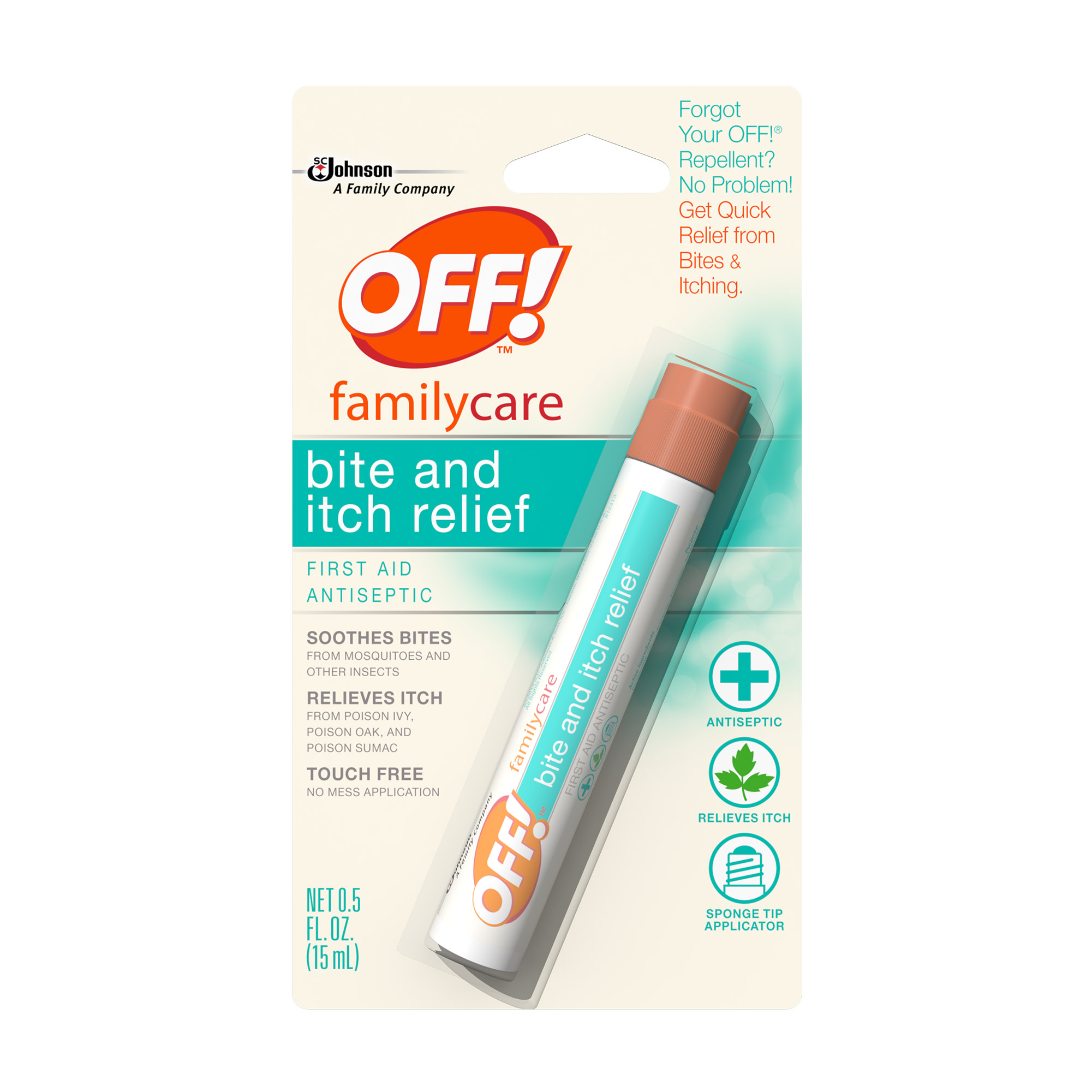 OFF! FamilyCare Bite and Itch Relief Pen, 1 count