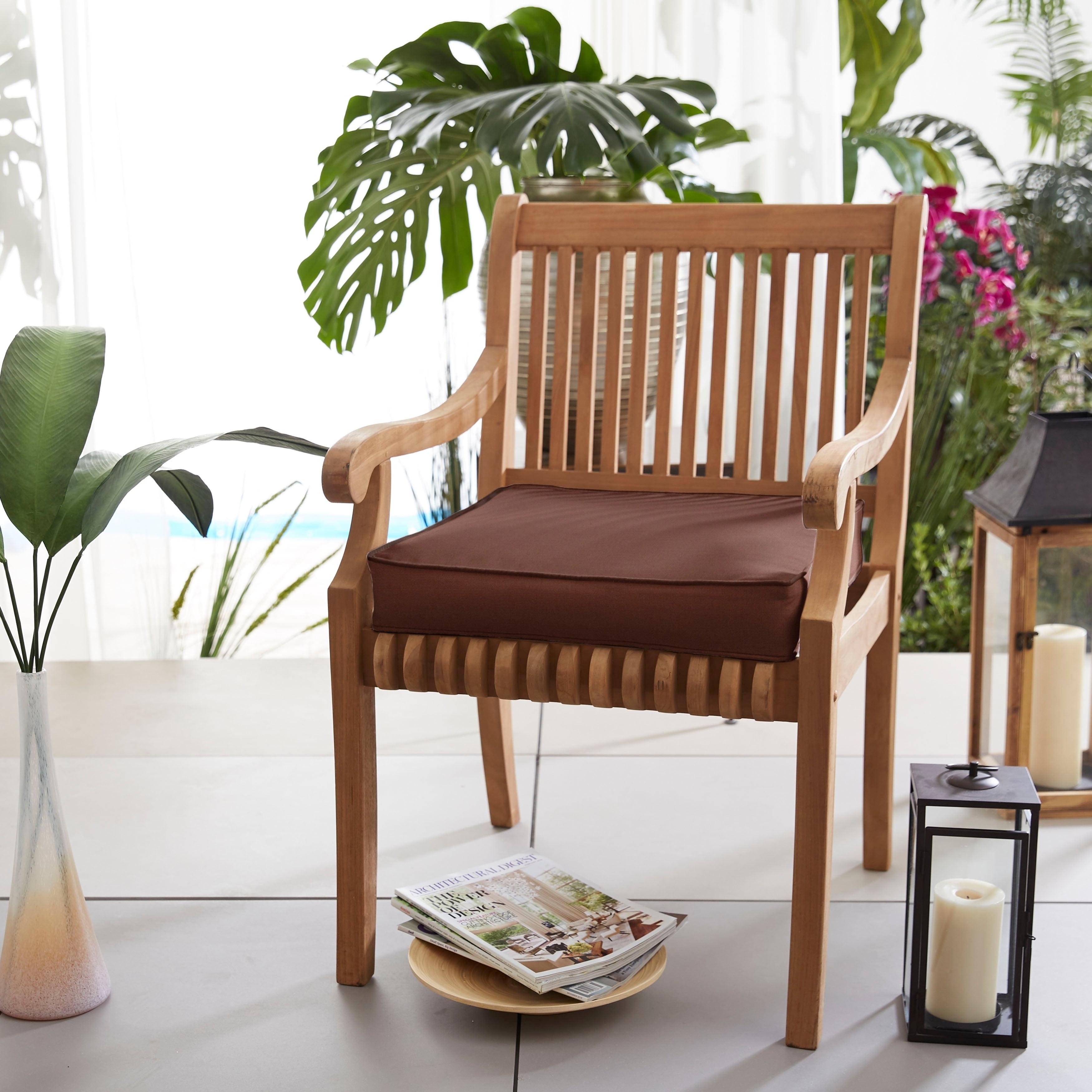 Outdoor 20 Inch Chair Cushion