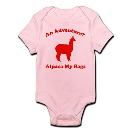 b3ebc2c96f3a3 CafePress - CafePress - An Adventure? Alpaca My Bags Infant Bodysuit ...