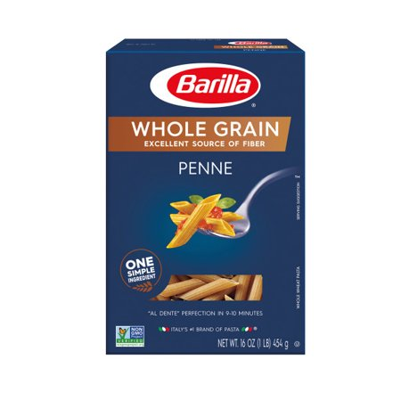 (4 pack) Barilla Pasta Whole Grain Penne, 16.0 oz