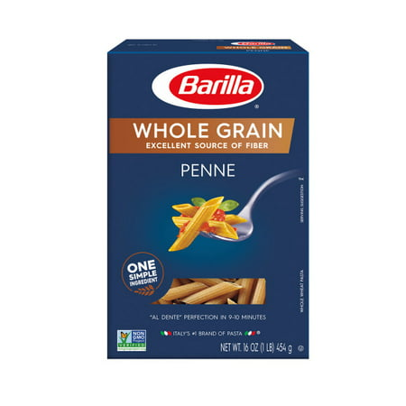 - (4 pack) Barilla Pasta Whole Grain Penne, 16.0 oz