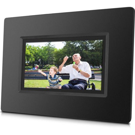 Sungale Cpf716 7 Smart Wifi Cloud Digital Photo Frame With