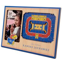 Kansas Jayhawks 3D StadiumViews Picture Frame - Brown - No Size