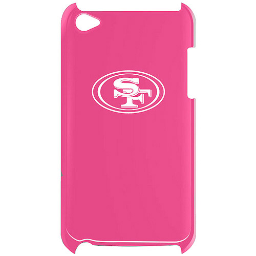 Tribeca iPod touch 4th Generation Solo Shell Varsity Jacket, San Francisco 49ers, Pink