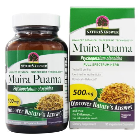Natures Answer Natures Answer  Muira Puama, 90 - Natures Answer Wood