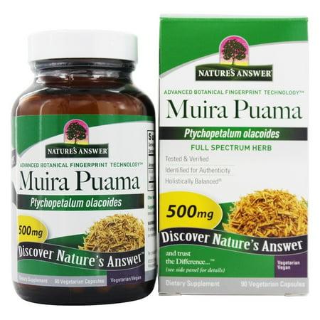 (Natures Answer Natures Answer  Muira Puama, 90 ea)