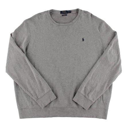 Sweater Crewneck Knit Ribbed Mens Ralph Lauren Polo vNm80wn