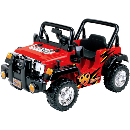 New Star Jungle Racer Sit-In 6 Volt Ride-On