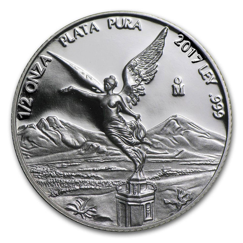 Libertad 1 oz .999 fine silver Proof Mexico 2017