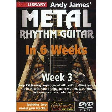 Methal Rhythm Guitar in 6 Weeks 3 (DVD) (This Week In Geek Halloween)