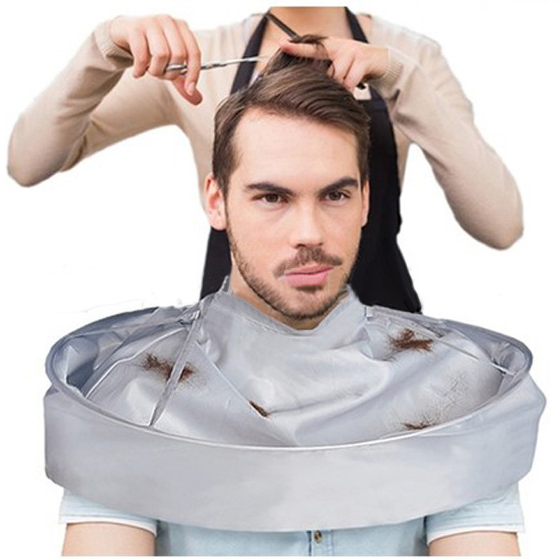 Outtop DIY Hair Cutting Cloak Umbrella Cape Salon Barber Salon And Home Stylists Using