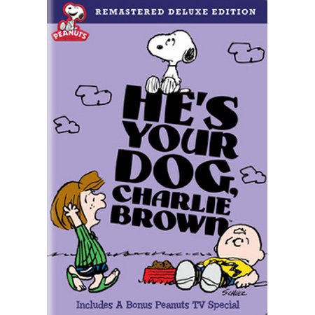 Peanuts: He's Your Dog, Charlie Brown (DVD) (Charlie Brown Halloween Episode Full)