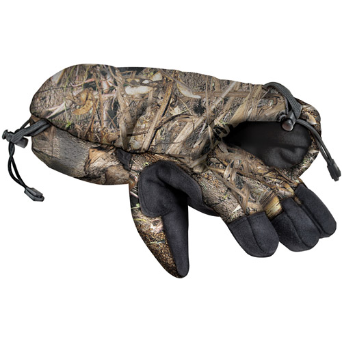 Mossy Oak Whistling Wings Quick Draw Glove Multi-Colored