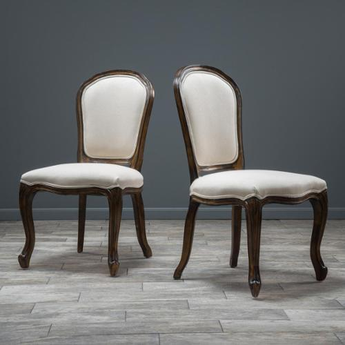 Springfield Weathered Wood Dining Chair (Set of 2)