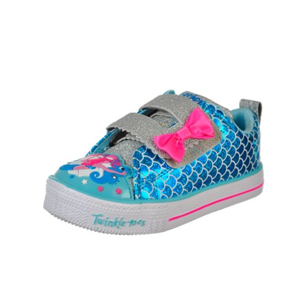 Skechers Girls' Twinkle Toes Light-Up Sneakers (Sizes 6 -