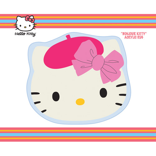 Hello Kitty 'Bonjour Kitty' Rug