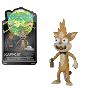 Action Figure: Rick & Morty - Squanchy w/ Boots
