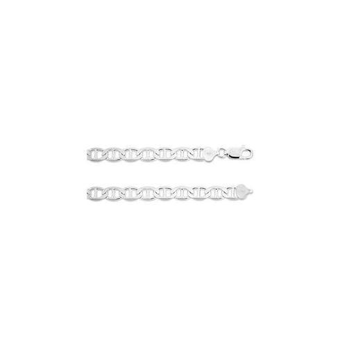 ZilverZoom G200-16 Sterling Silver  Marina 16 inch Necklace & 8mm Gauge