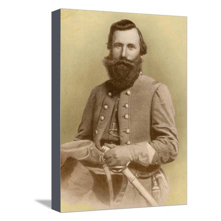- Jeb Stuart, Confederate General Stretched Canvas Print Wall Art By Science Source